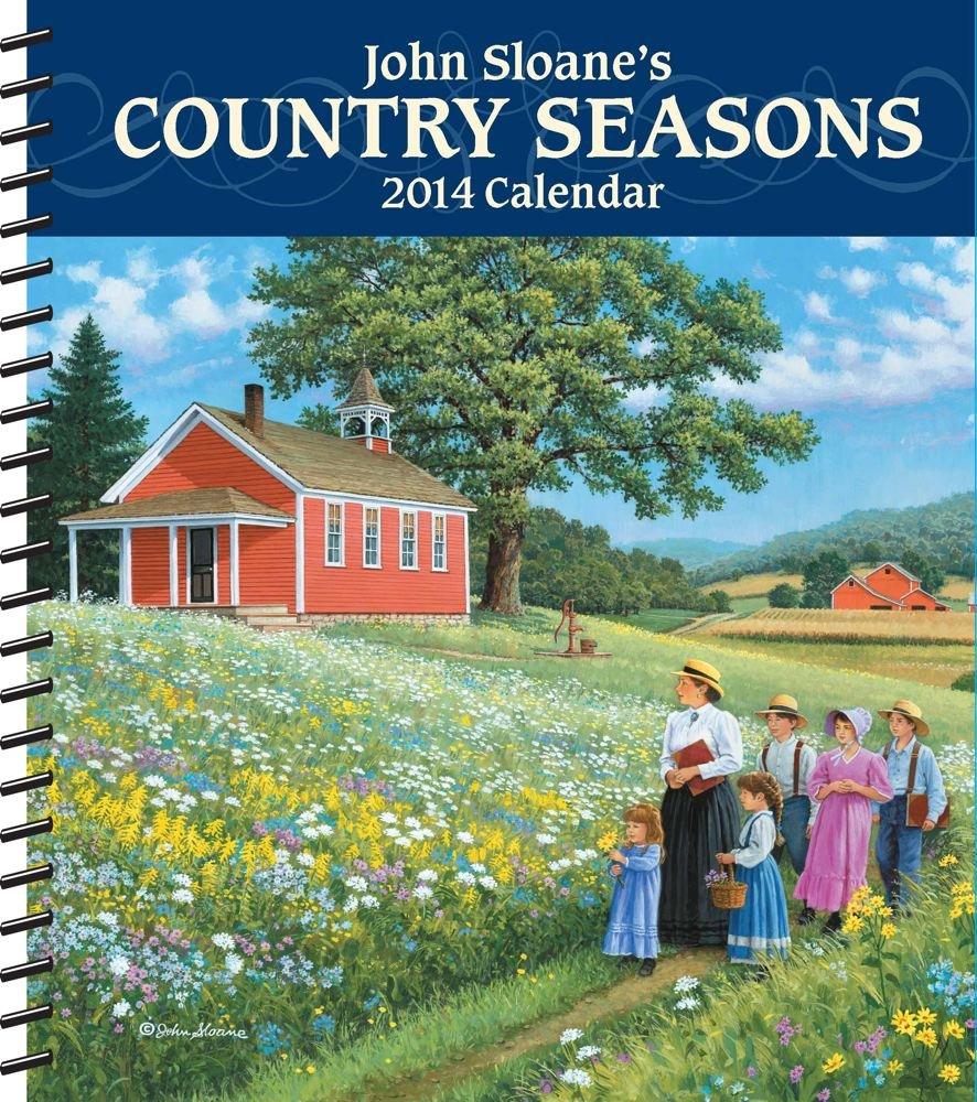 Download John Sloane's Country Seasons 2014 Weekly Planner Calendar pdf epub