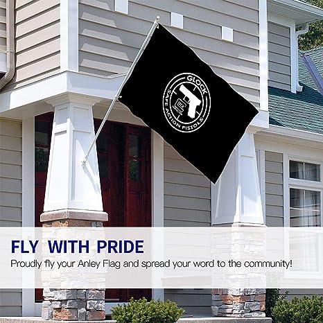 BAGR Bandera de jardín de la Marca Glock OEM, decoración para el hogar, casa, Patio, Fiestas al Aire Libre, Negro, tamaño único: Amazon.es: Jardín