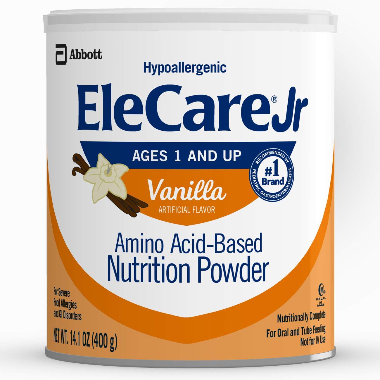 EleCare Elecare Jr Nutrition Powder Amino Acid-Based Nutrition Powder Vanilla (Pack of 6)