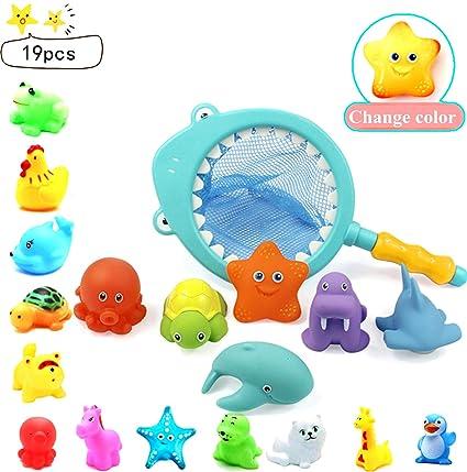 Lernspielzeug Lenbest Tierisches Thema Badespielzeug Badewannenspielzeug Baby Wasserspaß Du