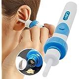 Ohrenreiniger, Ear Wax Cleaner, Ohrwachsentferner, Ohrenschmalz Entferner Ohrwachs Entfernungs Ohr Schmalz Reiniger mit 2 entfernbaren Silikon Aufsatzen, Kleinkinder,Babies,Jugendliche Erwachsene