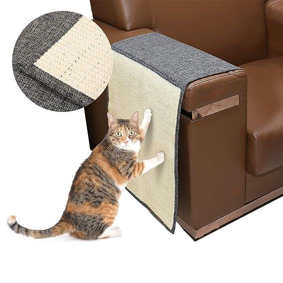 Amazon.com: Docamor – Alfombrilla para rascar gatos Sisal ...