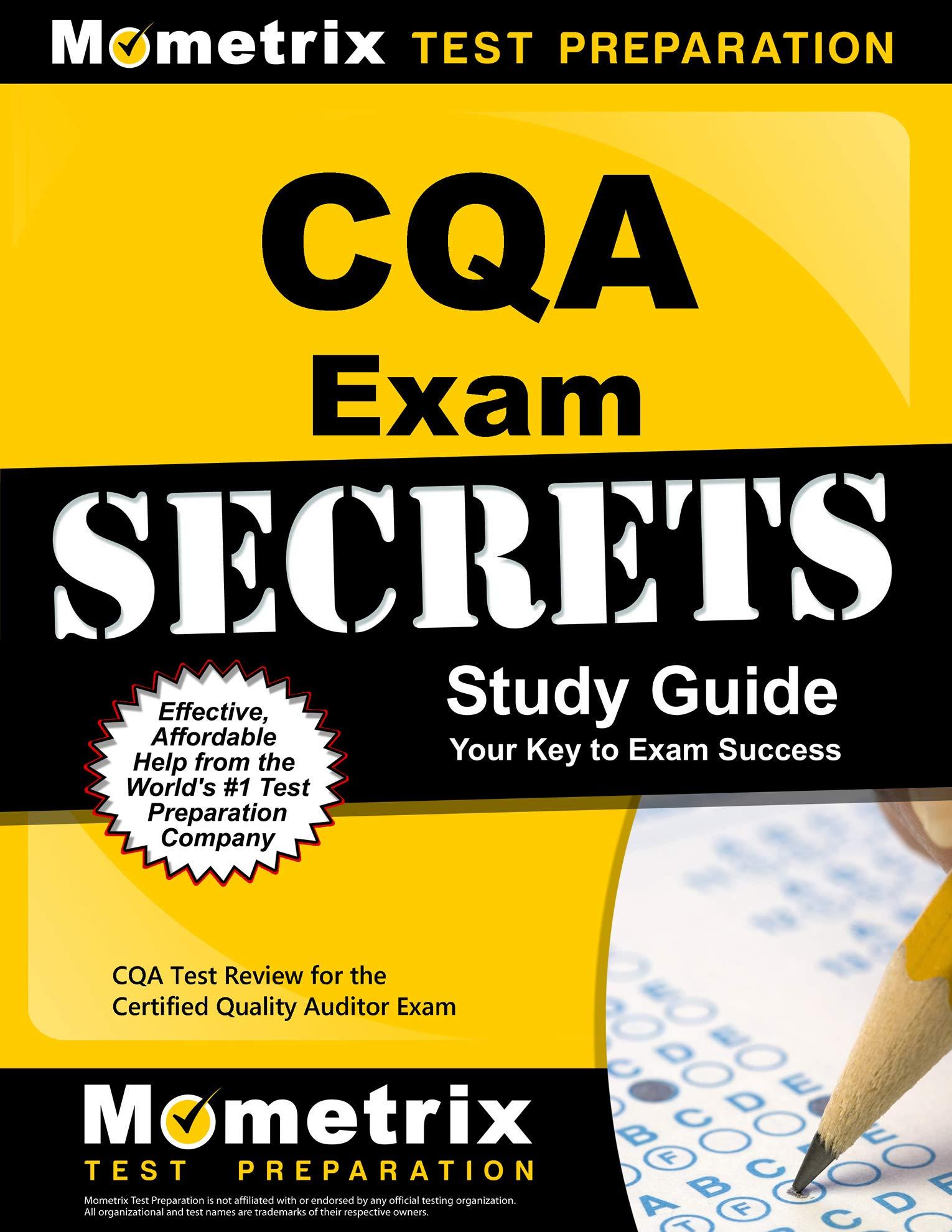 Amazon.com: CQA Exam Secrets Study Guide: CQA Test Review ...