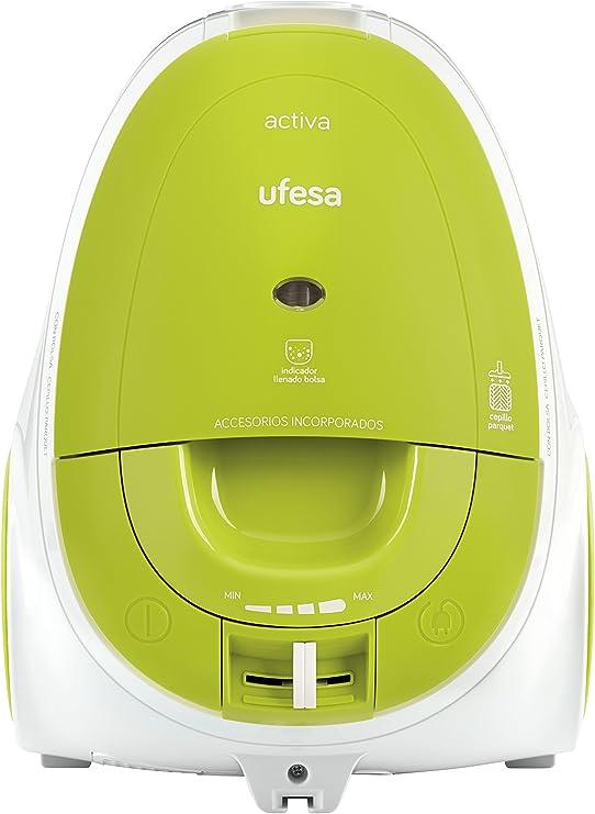Ufesa AC3010 Aspirador con bolsa Activa parquet, 700W, 700 W: Amazon.es: Hogar