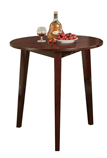Kings Brand 30u0026quot; Round Wood Dining Room Kitchen Table ...