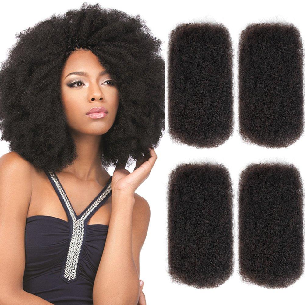 Amazon Style Icon 4 Bundles Afro Kinkys Bulk Human Hair 2020