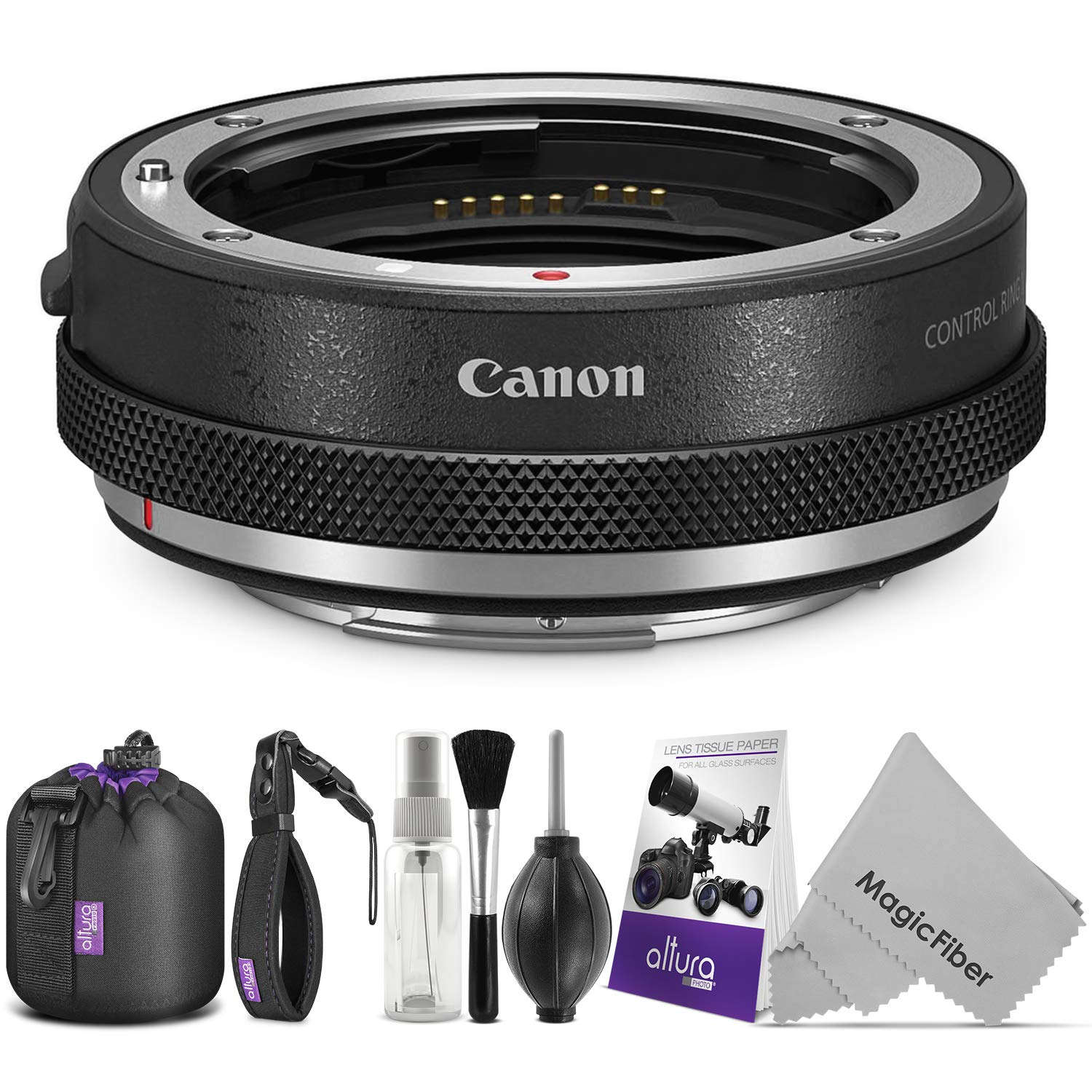 Canon Control Ring Mount Adapter EF-EOS R w/Essential Photo Bundle