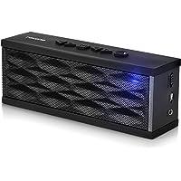 Rokono F200 Portable Wireless Bluetooth Speaker, Black