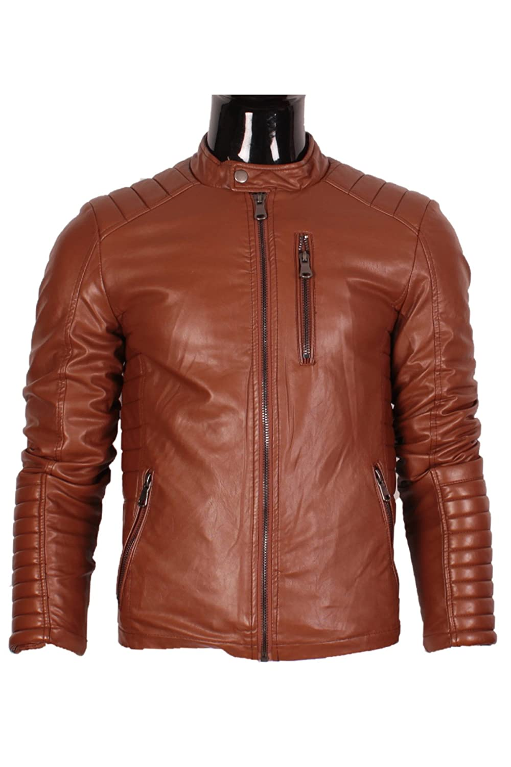 Mentex Men's Jacket Brown Camel