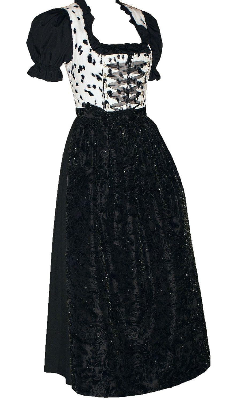 Gr.36 Designer-Dirndl Kleid mit Swarovski-Elements Dirndlkleid Trachtenkleid