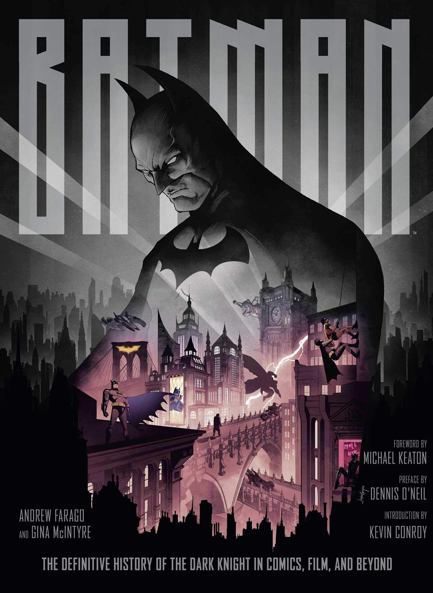 Batman: The Definitive History of the Dark Knight in Comics, Film, and Beyond by Insight Editions