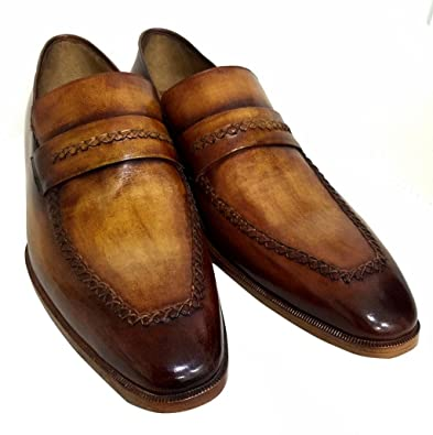 Park Close Men's Luxury Classic Handmade Leather Shoes
