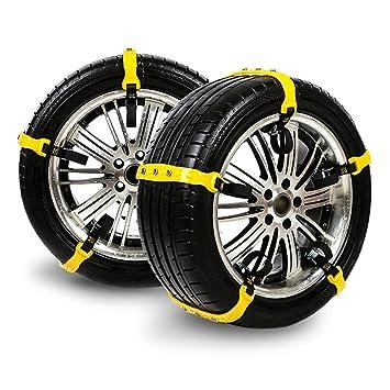 Snow Chains For Tires >> Amazon Com Huborloves Snow Chains Anti Skid Emergency Snow Tire