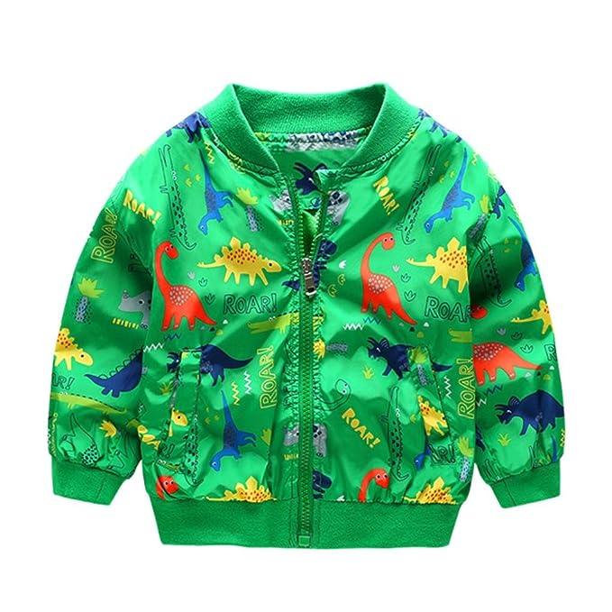 Envío Gratis Bebé abrigo Chaqueta , Yannerr niños Chico lindo dinosaurio capa ropa caliente (verde