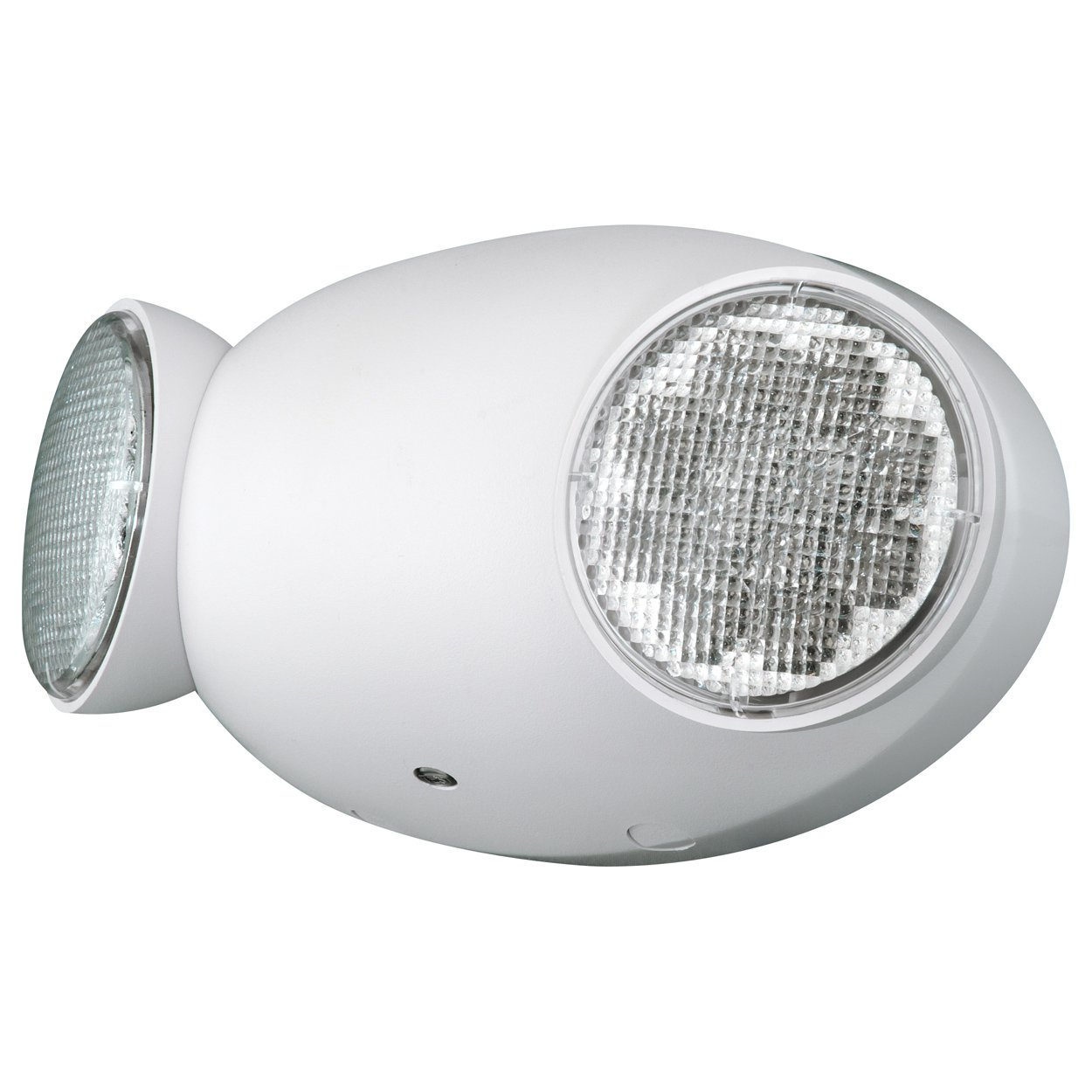 Compass CU2RC Hubbell Lighting LED 2 Head Emergency Light with Remote Capacity, White by COMPASS