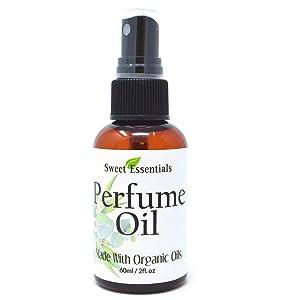 Apple Blossom & Vanilla   Fragrance/Perfume Oil   2oz Made with Organic Oils - Spray on Perfume Oil - Alcohol & Preservative Free