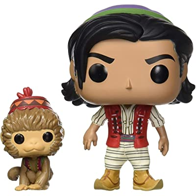 Funko Pop! Disney: Aladdin Live Action - Aladdin with Abu: Toys & Games