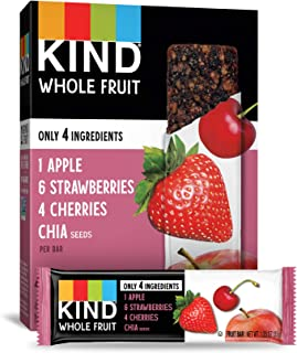 product image for KIND Whole Fruit Bars, Strawberry Apple Chia, 24 Count