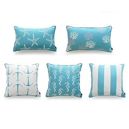 Amazon Hofdeco Decorative Outdoor Throw Lumbar Pillow Cover Inspiration Decorative Outdoor Lumbar Pillows