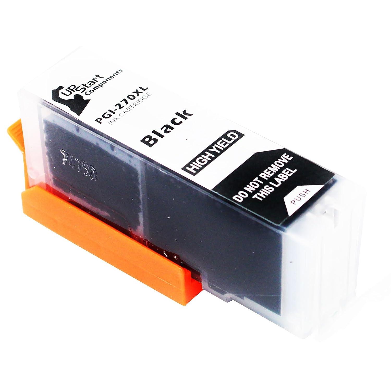 交換用Canon PGI - 270 XL顔料ブラックインクタンクカートリッジ – と互換性Canon Pixma mg7720、Pixma mg6821、Pixma mg5720、Pixma mg6820、Pixma ts6020、Pixma ts9020、Pixma ts8020、Pixma mg5722 B074X8D8PS