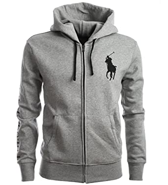 Ralph Lauren Polo Sweatjacke Jacke Zip Hoodie Zipper