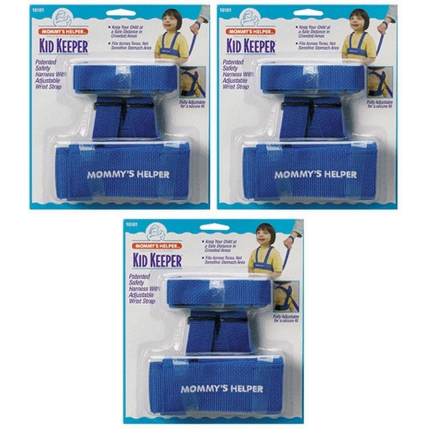 Mommy's Helper - Kid Keeper, Adjustable for Chest Sizes 14'' to 25.5'' (3-Pack)