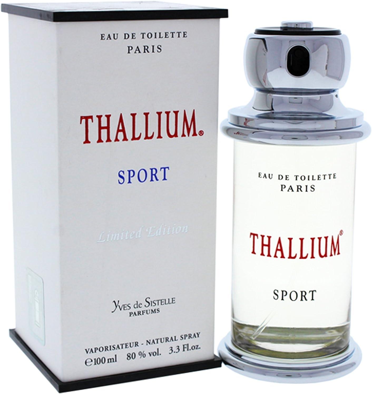 Thallium Sport Limited Edition for Men by Yves De Sistelle 3.3 oz ...