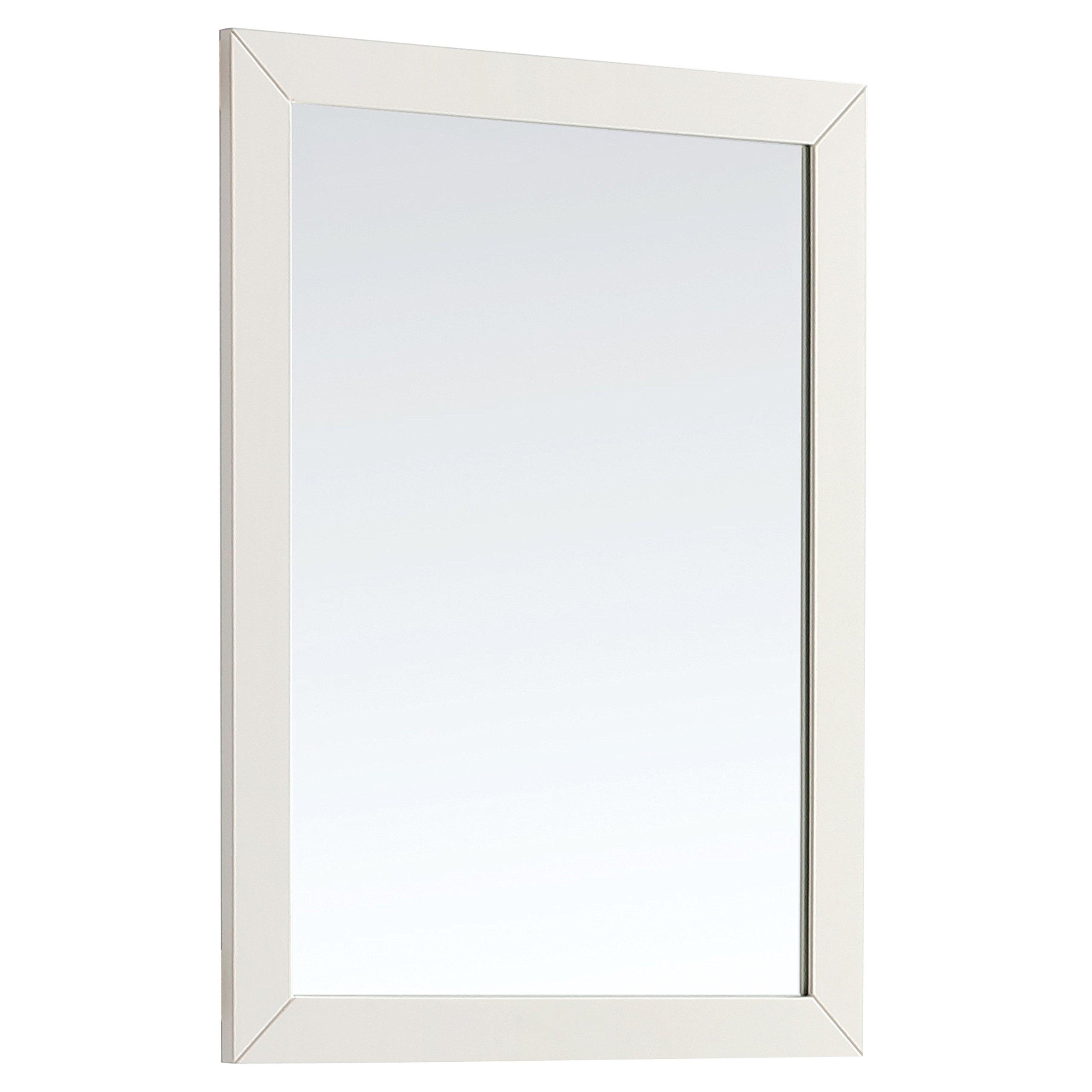 Simpli Home Paige 24'' x 34'' Bath Vanity Décor Mirror, Soft White