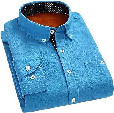 Aooword-men clothes Camisas de vestir de pana grandes y altas tejidas con botones Para Hombres: Amazon.es: Ropa y accesorios