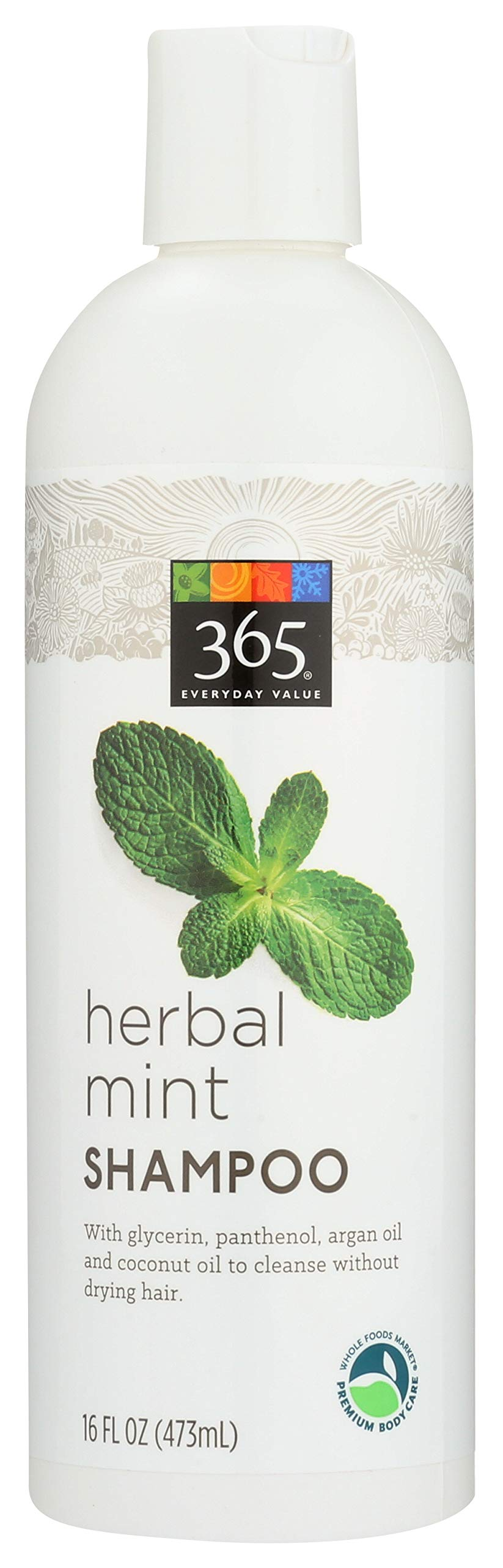 365 Everyday Value, Herbal Mint Shampoo, 16 fl oz