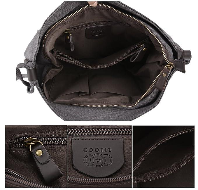 Bolsos Bandolera,Coofit Bolso de Hombro Messenger Callejero Bag Unisex (Color 1)