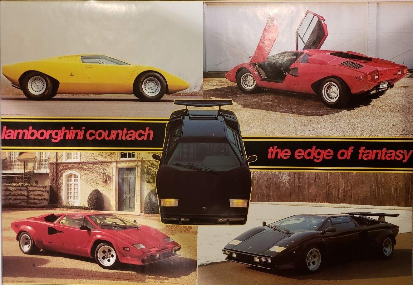Amazon.com Countrach Lamborghini 1971 to 1984 Collage