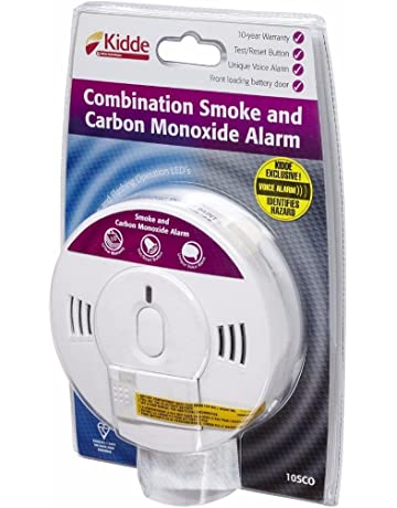 857bdc1e0198 2x Carbon Monoxide and Smoke Combination Alarm - Kidde 10SCO