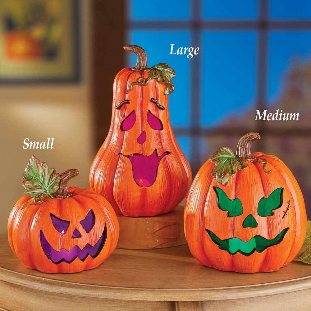 Orange pumpkin jack-o-lantern Halloween faux leather sheet full or 1//2 sheet