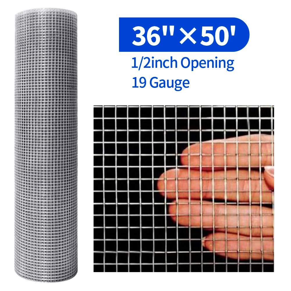 YARDGARD 308222B 36-Inch by 5-Foot 1//2-Inch Mesh Hardware Cloth