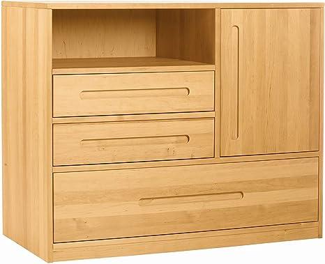 Biokinder 24823 Lina Dresser Changing Table Solid Wood Alder Amazon De Kuche Haushalt