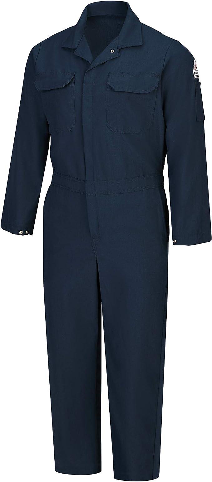 Bulwark Men S Flame Resistant 4 5 Oz Nomex Iiia Premium Coverall Clothing Amazon Com