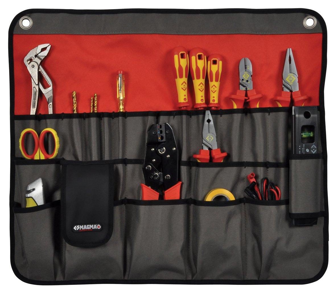C K Tools MA2718 Magma Versatile Tool Roll