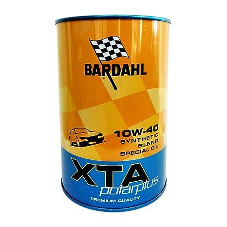Aceite Motor Coche Bardahl XTA polarplus 10 W40 - 1 Litro: Amazon.es ...