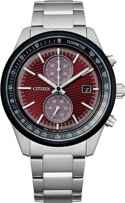 [CITIZEN] 腕時計 JOUNETSU COLLECTION 世界限定2,200本 エコ・ドライブ CA7034-96W メンズ シルバー