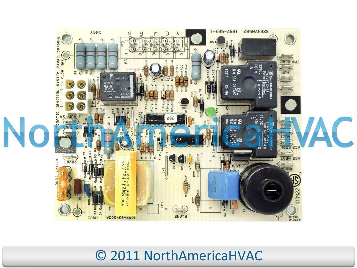 52m46 Ducane Oem Replacement Furnace Control Board Hvac Controls Lennox Circuit Problems