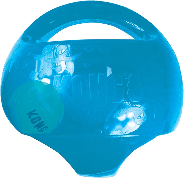 KONG - Jumbler Ball - Juguete con Pelota de Tenis Perros Grandes/Extragrandes