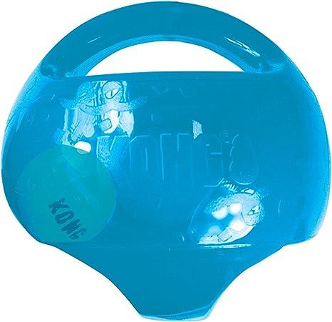 KONG - Jumbler Ball - Juguete con pelota de tenis - Para Perros ...