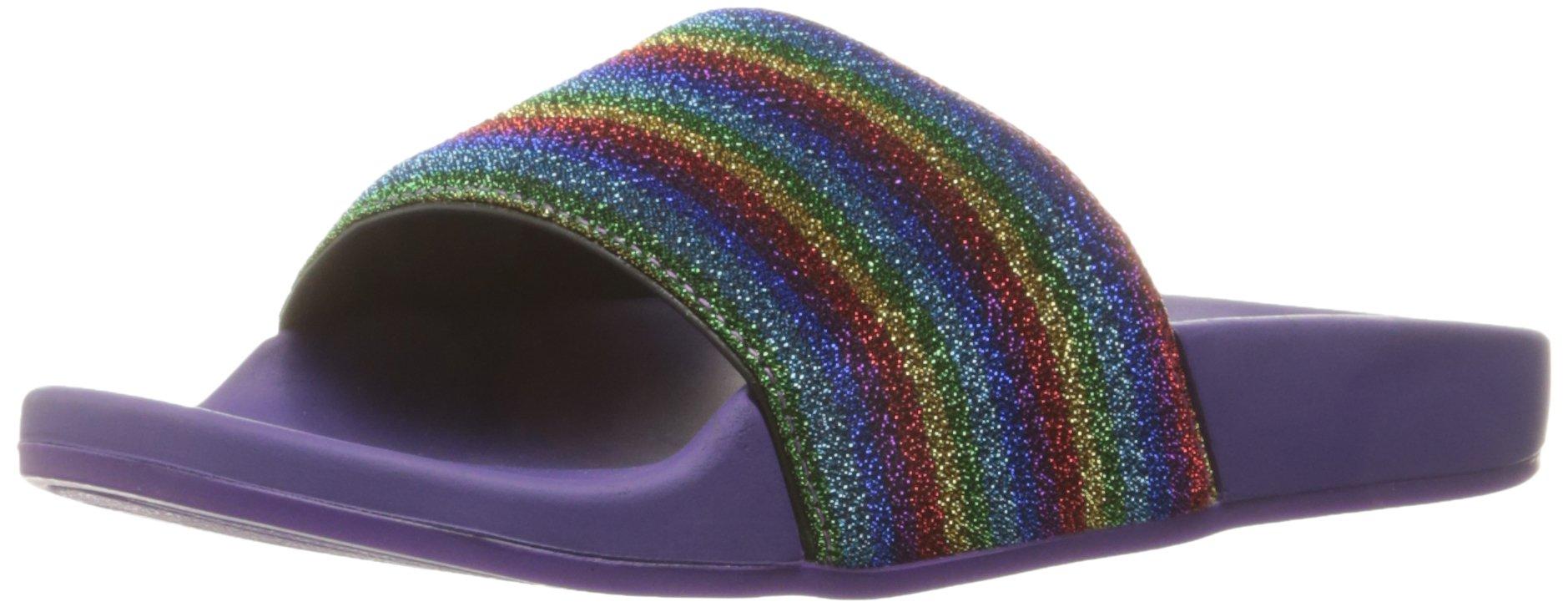 Marc Jacobs Women's Cooper Sport Slide Slipper, Purple Multi, 37 EU/7 M US