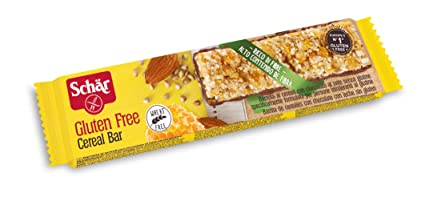 Dr. Schar Cereal Bar Barrita De Cereales - 25 gr: Amazon.es ...