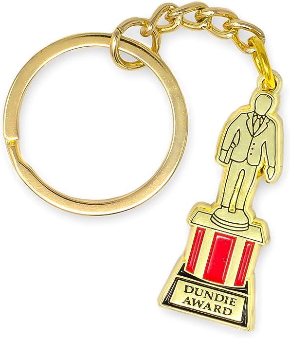 Dundie Award Trophy Keychain