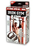 Iron Gym TOTAL AB Workout - Cinturón para ejercitar los abdominales, color negro