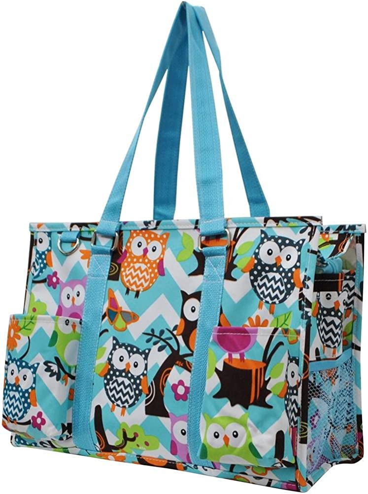 Sport Themed Prints NGIL Zippered Caddy Organizer Tote Bag