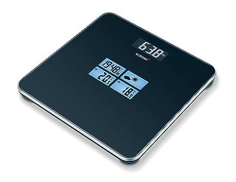 Korona Viola - Báscula de baño (LCD, Negro)