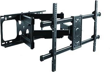 Elite Mount - Soporte de pared articulado para televisor Samsung UN75JU6500 4K Ultra HD de 75 pulgadas con brazo doble para Samsung UN75JU6500 (Enewed): Amazon.es: Electrónica